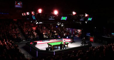 Snooker players salary is crap compared to other sports