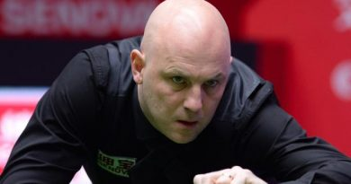 King of the baize: Mark King wins his first snooker ranking title